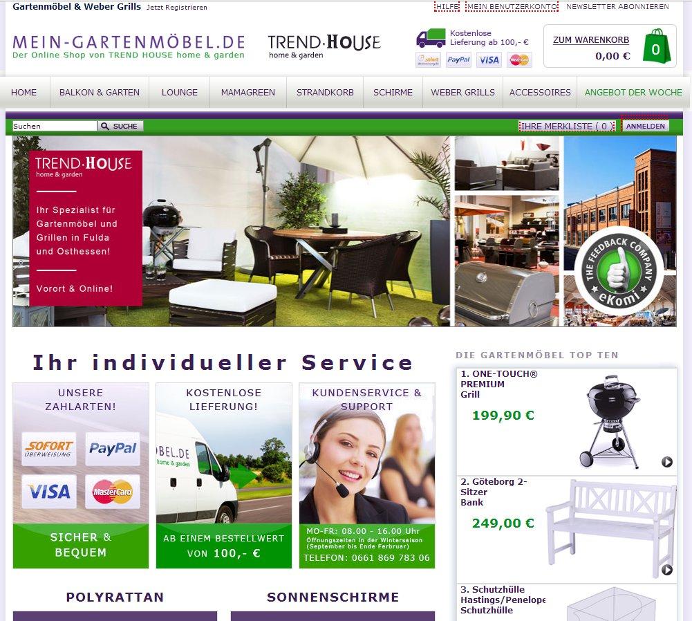 Review: Shoppen auf mein-gartenmoebel.de - Garten & Tee Blog